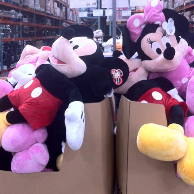 Giant '' Mickey or Minnie at Costco for