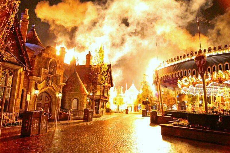 FantasyLand on Fire